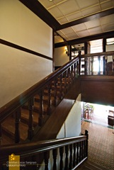 Corregidor Inn's Grand Staircase