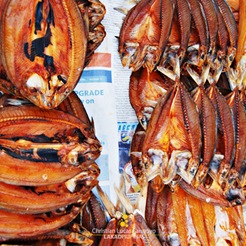 Dried Fish at Ortiz Wharf in Iloilo