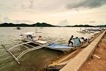 Unloading Supplies at Coron's Dock