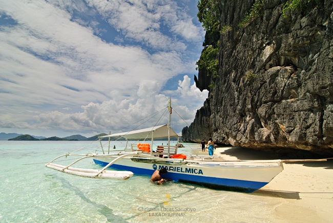 Amazingly Clear Waters of Banol Beach in Coron
