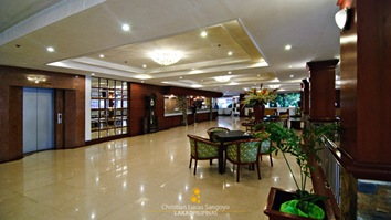 The Lobby at Bacolod's Grand Regal Hotel