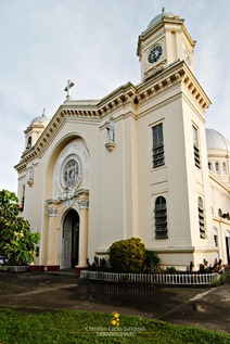 The Cream-Colored Facade of the San Diego Cathedral in Silay City