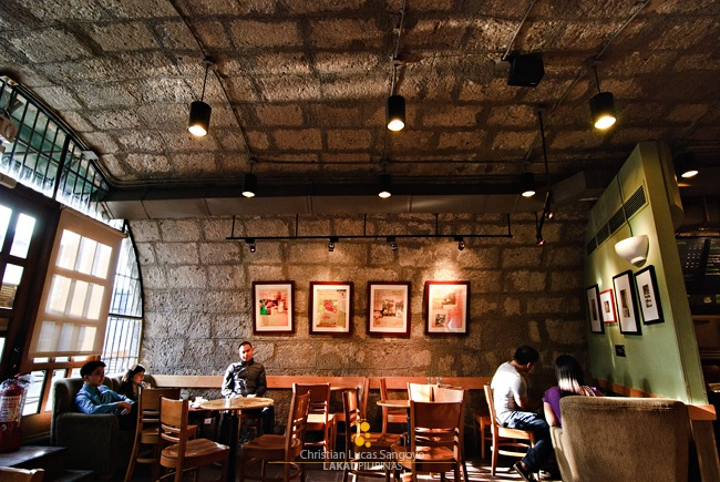 The Cavernous Walls of Starbucks Intramuros