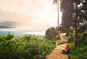 A Portion of Tagaytay Picnic Grove's Eco Trail