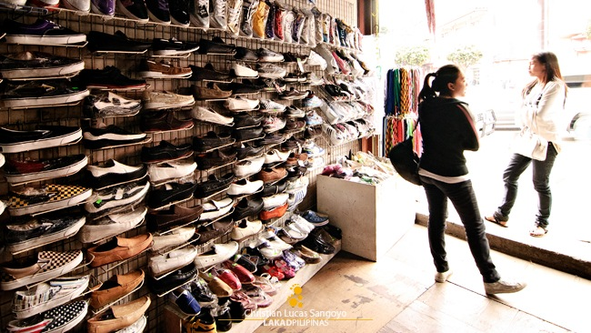 Shoes and More Shoes at Baguio's Ukay Ukay