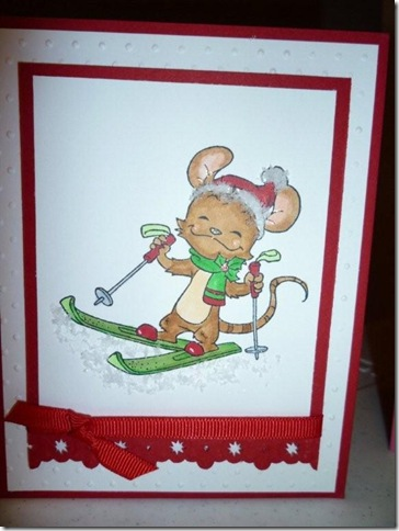 Henry Mouse Skiing