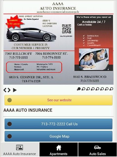 AAAA Auto Insurance
