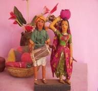 "गुडिया कला झाबुआ-Doll art Jhabua ""गुड़िया कला"", Jhabua Dolls- Tribal Handicrafts"