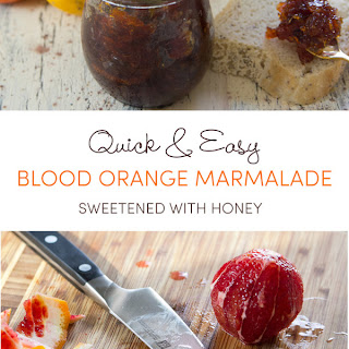 Quick Blood Orange Marmalade Recipe