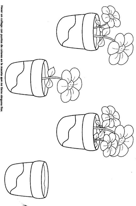 dibujos y fichas para colorear Primavera - Colorear ...