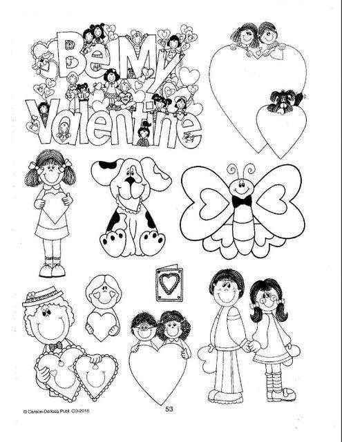 Dibujos Para Colorear Día Del Amor Y La Amistad Colorear Dibujos