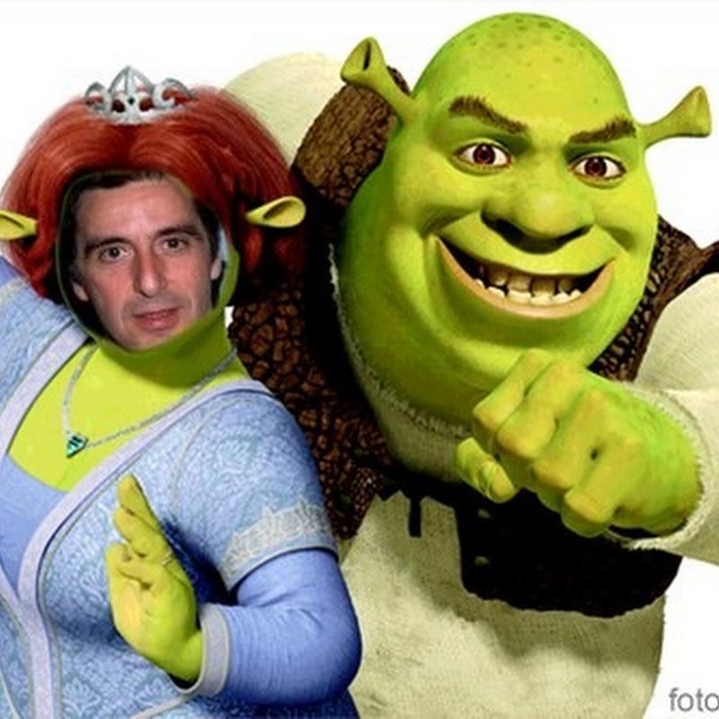 Fotomontaje Fiona y shrek con tu foto