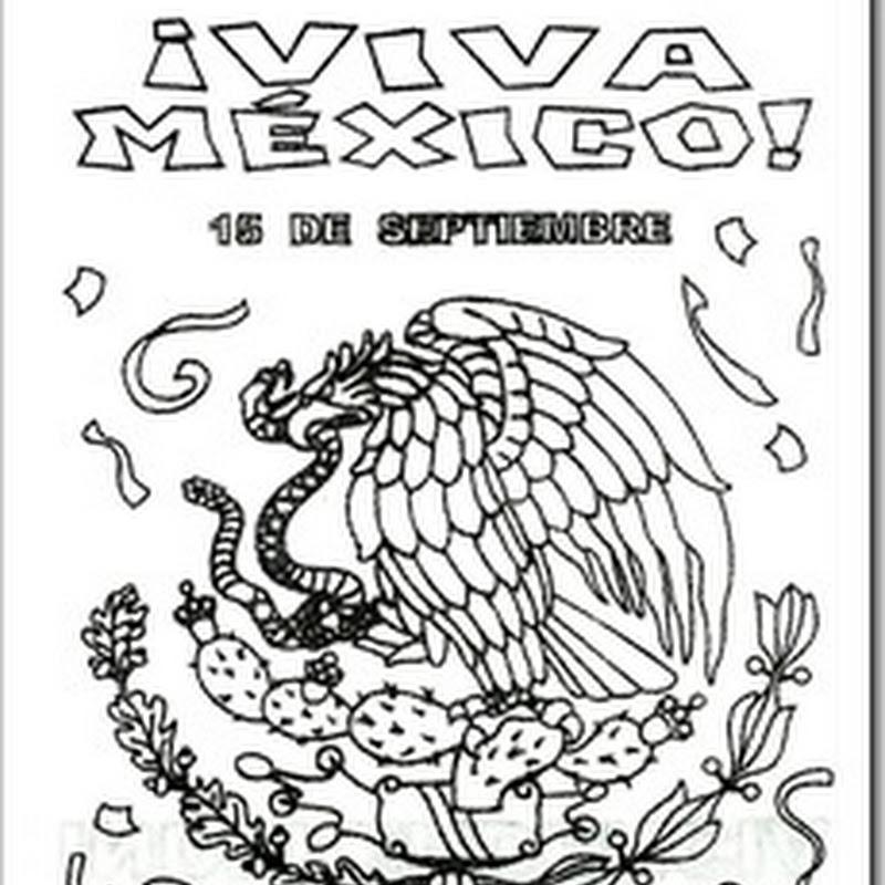 Dibujos Para Colorear Y Fichas Independencia De México Blog De
