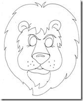 mascara león blogcolorear-com (9)