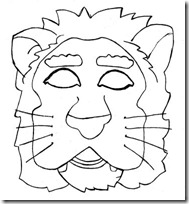 mascara león blogcolorear-com (7)