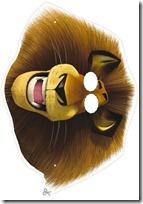 mascara león blogcolorear-com (8)