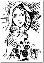 Blog De Imagenes Dibujos Para Colorear De La Virgen Inmaculada
