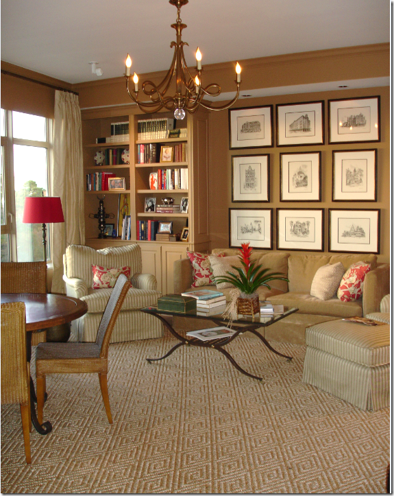 In This Apartment That I Designed Used The Diamond Patterned Stark Carpet Library