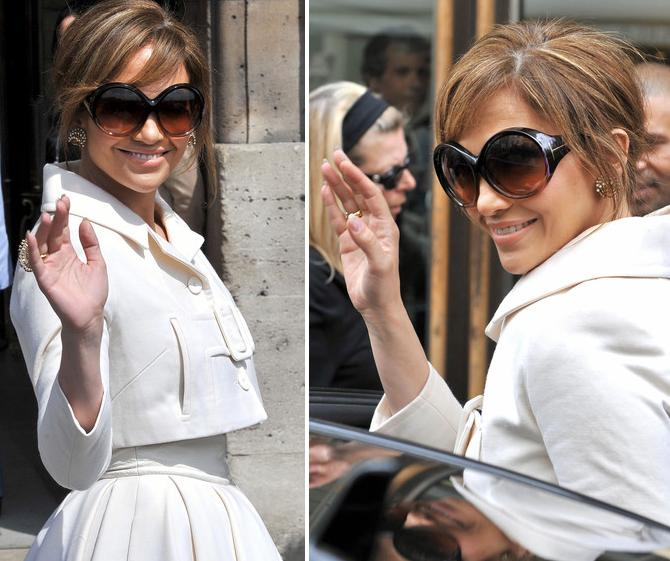 81d26fcf5778 Jennifer Lopez Is One Classy Babe In Tom Ford Alessandra TF0094 - Eyewear  News