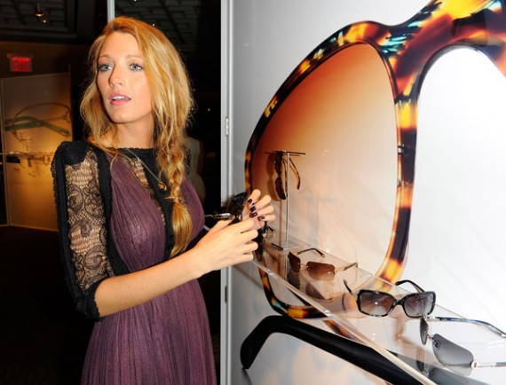 59bd68bb1d2 Tiffany   Co. Eyewear Spring 2011 Presention with Blake Lively ...