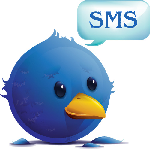 Tweet and SMS with shortened tags image