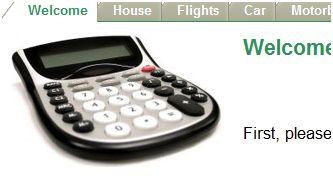 Carbon Foot Print Calculator .com preview screenshot