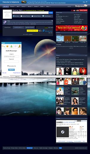 IndiaRocks Interface Image   Send free sms