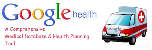 Google Health Medical Database & Health Planning Tool Revamped image logo google health