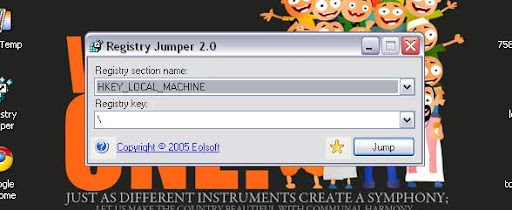 Registry Jumper-Quicker Access To Registry Keys & regjump:// Custom Protocol Supported