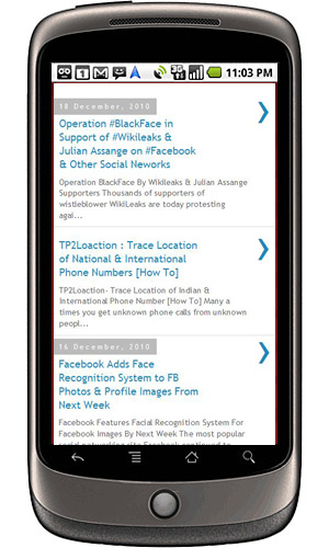 Blogger Introduces Mobile Template For Blogger Blogs, Read On Smartphones!