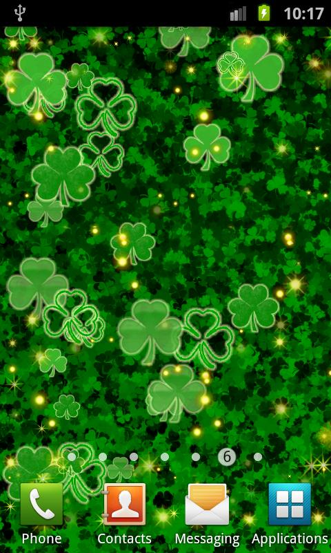 Shamrock live wallpaper android apps on google play shamrock live wallpaper screenshot voltagebd Images