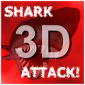 Shark Attack 3D LWP (gratuit) icon