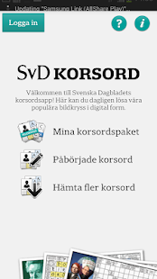 Free SvD Korsord APK