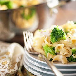 Chicken Broccoli Pasta.