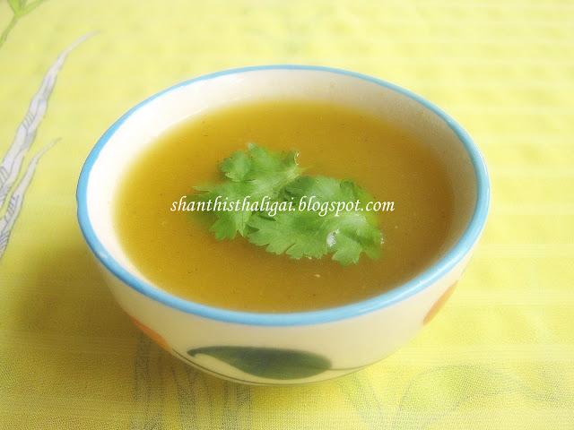 Shanthi Krishnakumar's cook book: ASHGOURD CLEAR SOUP