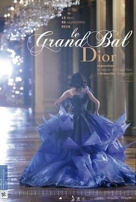 Christian Dior Exhibition Poster