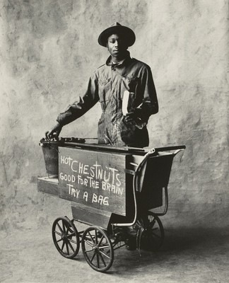 IRVING PENN, Chestnut Vendor, New York, 1951