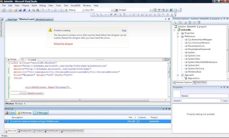 A Real WPF 4 0 WebBrowser | Chris Cavanagh's Blog