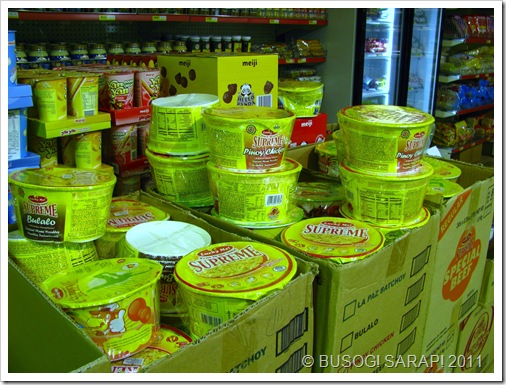 BEST FRIENDS INSTANT NOODLES ON SALE© BUSOG! SARAP! 2010