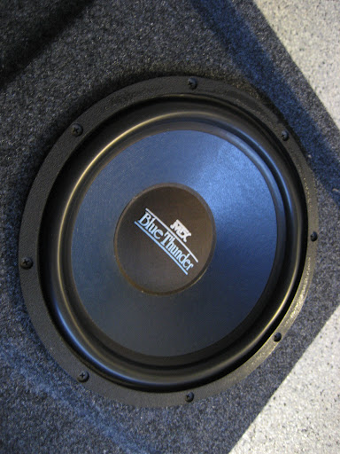 Stealth Supercrew Subwoofer Box With Two Mtx Blue Thunder