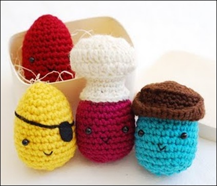 Crocheted Eggs 07