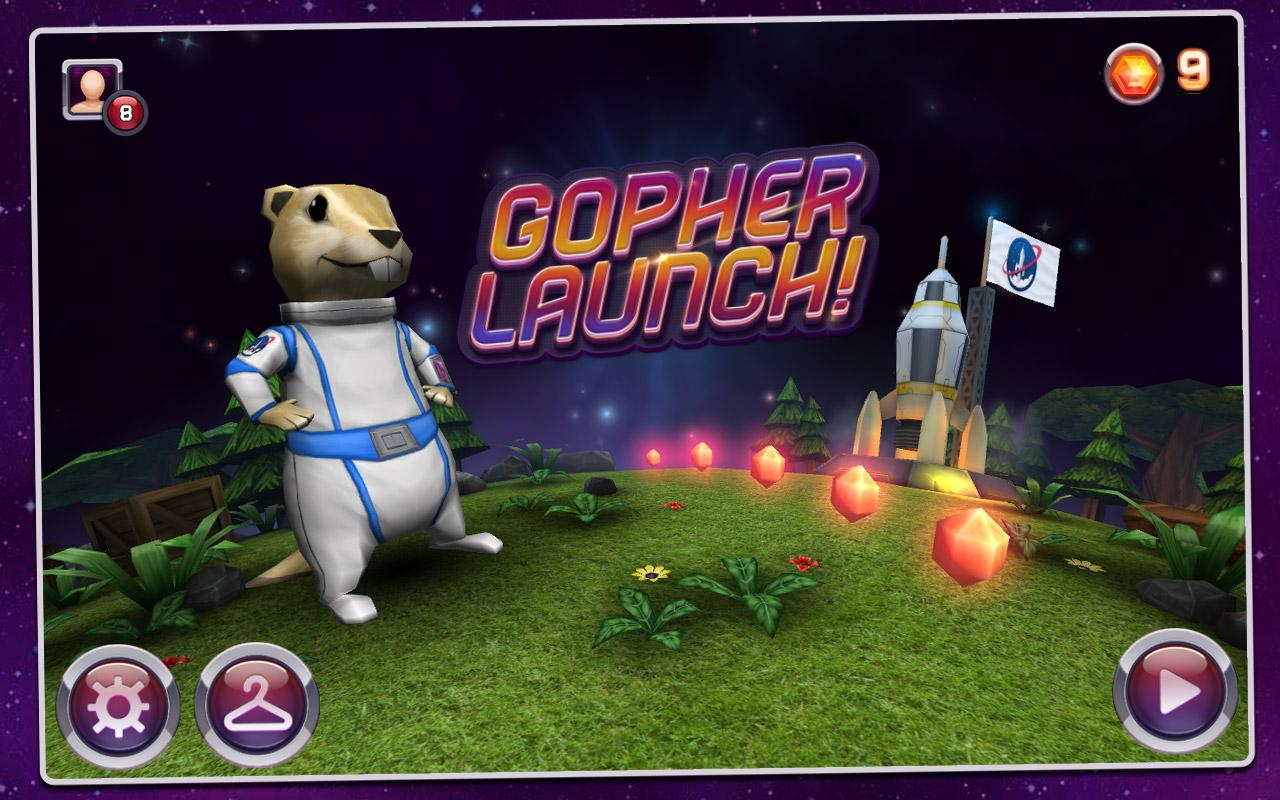 Gopher Launch- screenshot