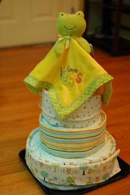 Devotional Diaper Cake