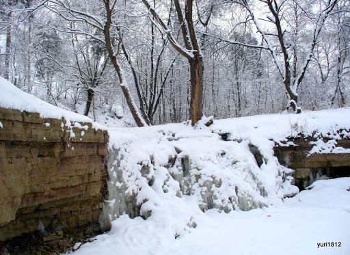 Замерзший водопад Frozen waterfall photo yuri1812