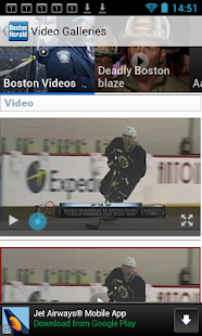 Boston Herald- screenshot thumbnail