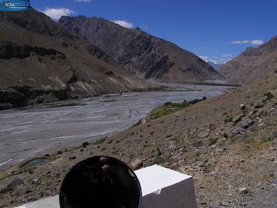 Landscape enroute Dhankar