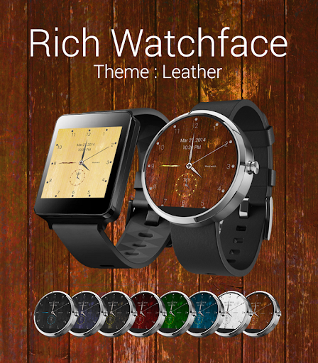 Rich Watchface for AndroidWear