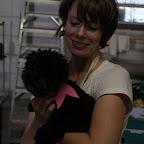 Pixie in Dolly's sash :)