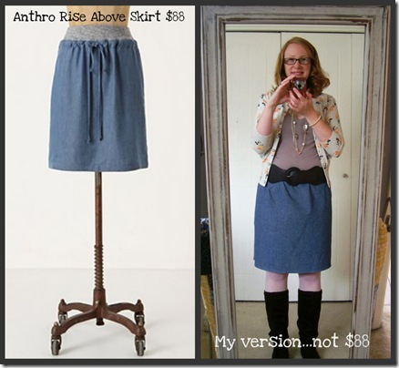 Anthro Knock Off_Rise Above Skirt