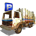 Trash Collector Truck Parking icon